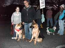 Caldwell Animal Rescue - Christmas Parade 2011